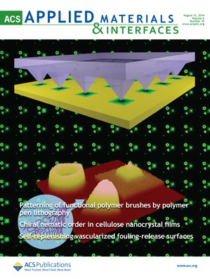 ACS Applied Materials & Interfaces: Volume 6, Issue 15