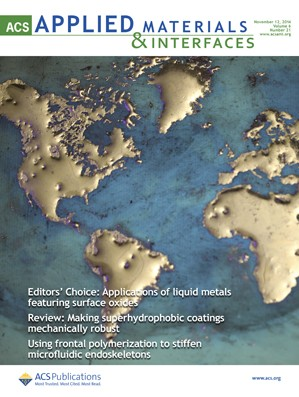 ACS Applied Materials & Interfaces: Volume 6, Issue 21