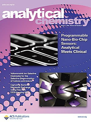 Analytical Chemistry: Volume 82, Issue 5