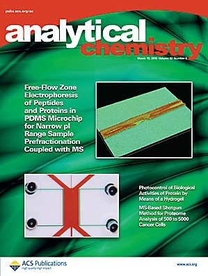 Analytical Chemistry: Volume 82, Issue 6