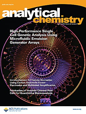 Analytical Chemistry: Volume 82, Issue 8