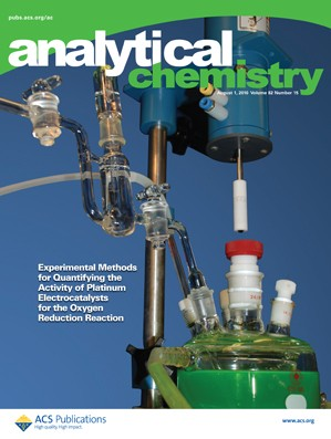 Analytical Chemistry: Volume 82, Issue 15