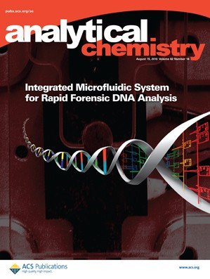 Analytical Chemistry: Volume 82, Issue 16