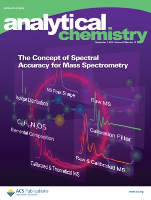 Analytical Chemistry: Volume 82, Issue 17