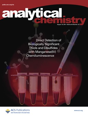 Analytical Chemistry: Volume 83, Issue 16