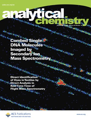 Analytical Chemistry: Volume 83, Issue 18