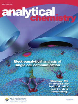 Analytical Chemistry: Volume 83, Issue 19