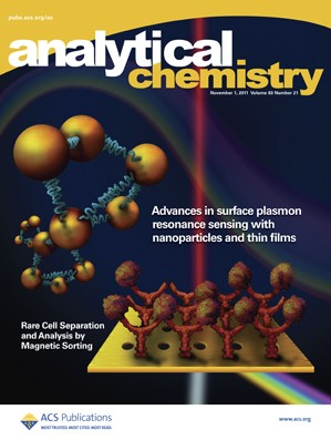 Analytical Chemistry: Volume 83, Issue 21