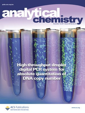 Analytical Chemistry: Volume 83, Issue 22