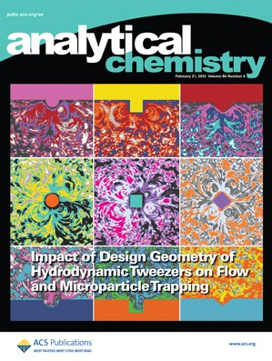 Analytical Chemistry: Volume 84, Issue 4