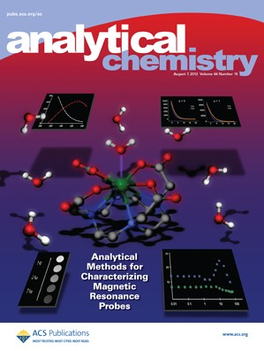 Analytical Chemistry: Volume 84, Issue 15