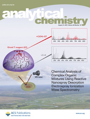 Analytical Chemistry: Volume 84, Issue 16
