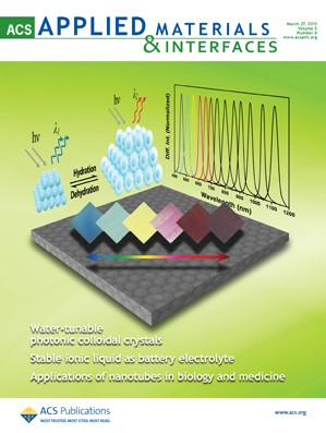 ACS Applied Materials & Interfaces: Volume 5, Issue 6