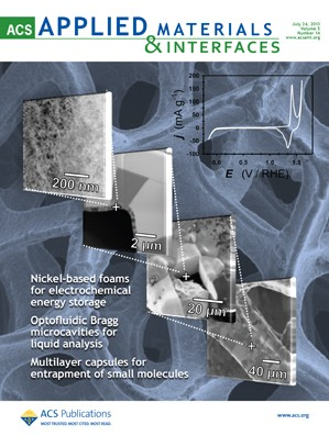 ACS Applied Materials & Interfaces: Volume 5, Issue 14