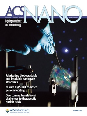 ACS Nano: Volume 14, Issue 8