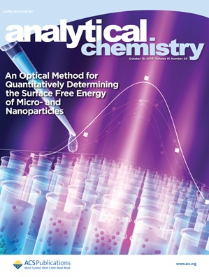 Analytical Chemistry: Volume 91, Issue 20