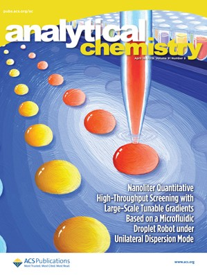 Analytical Chemistry: Volume 91, Issue 8