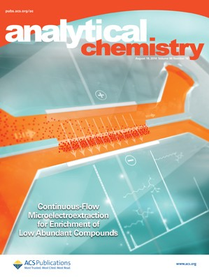Analytical Chemistry: Volume 86, Issue 16