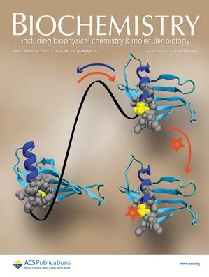 Biochemistry: Volume 53, Issue 38