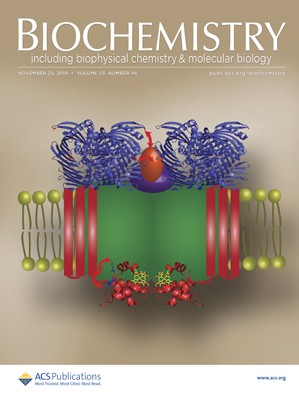 Biochemistry: Volume 53, Issue 46
