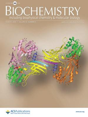 Biochemistry: Volume 55, Issue 8