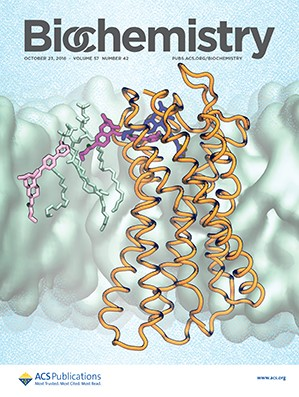 Biochemistry: Volume 57, Issue 42