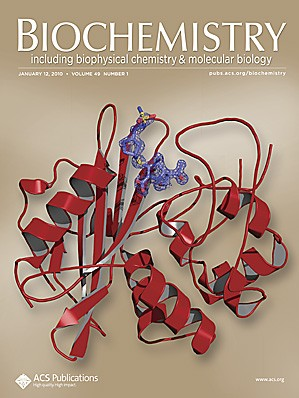 Biochemistry: Volume 49, Issue 1
