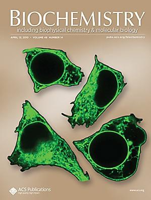 Biochemistry: Volume 49, Issue 14