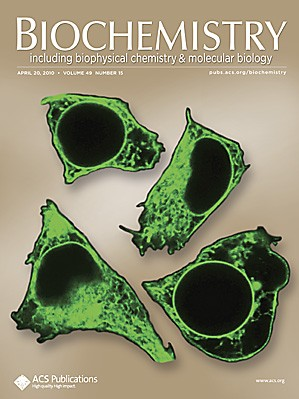 Biochemistry: Volume 49, Issue 15