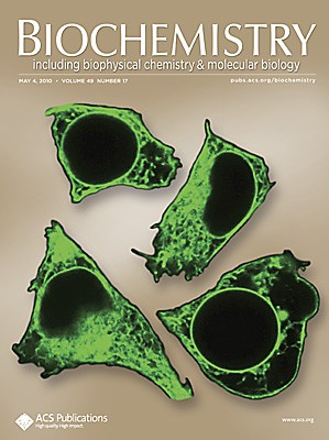 Biochemistry: Volume 49, Issue 17