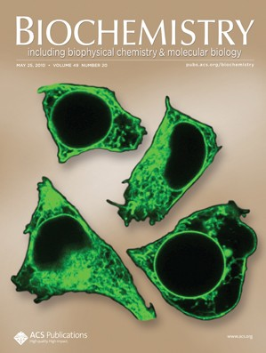 Biochemistry: Volume 49, Issue 20