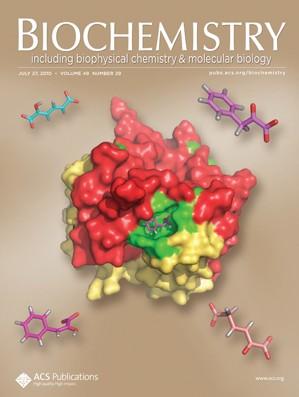 Biochemistry: Volume 49, Issue 29