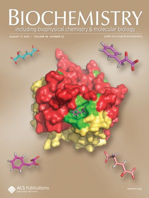 Biochemistry: Volume 49, Issue 32