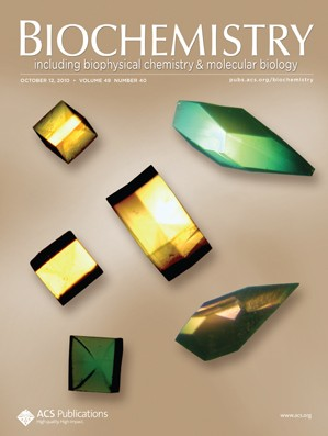 Biochemistry: Volume 49, Issue 40