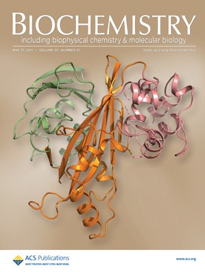 Biochemistry: Volume 50, Issue 21