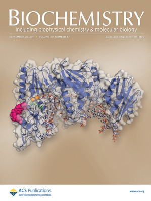 Biochemistry: Volume 50, Issue 37