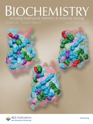 Biochemistry: Volume 50, Issue 40