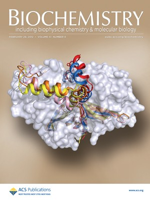Biochemistry: Volume 51, Issue 8