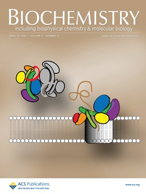 Biochemistry: Volume 51, Issue 14