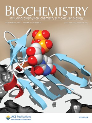 Biochemistry: Volume 51, Issue 35