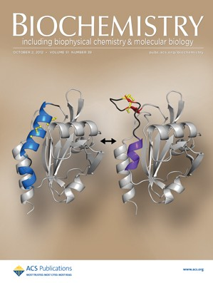 Biochemistry: Volume 51, Issue 39