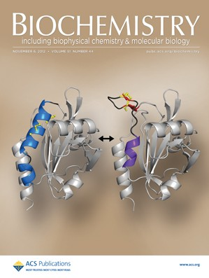 Biochemistry: Volume 51, Issue 44