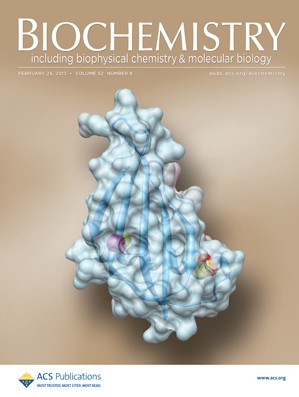 Biochemistry: Volume 52, Issue 8