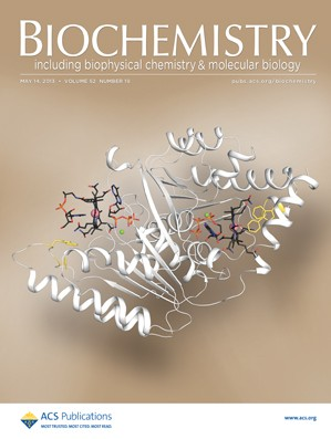 Biochemistry: Volume 52, Issue 19