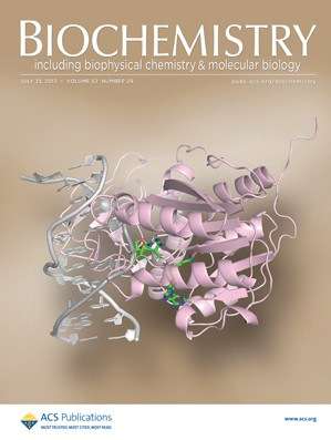 Biochemistry: Volume 52, Issue 29