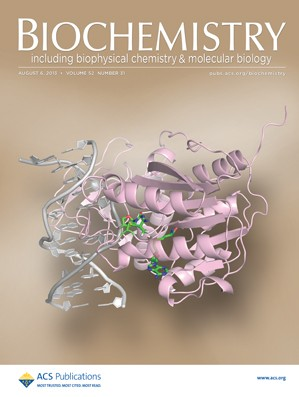 Biochemistry: Volume 52, Issue 31