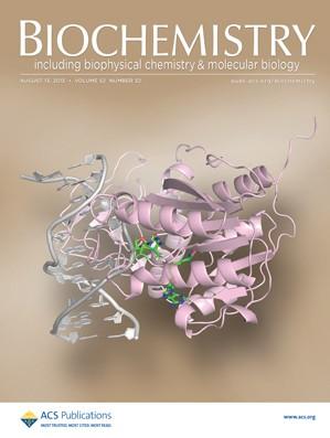 Biochemistry: Volume 52, Issue 32