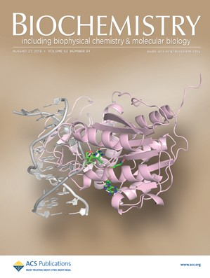Biochemistry: Volume 52, Issue 34