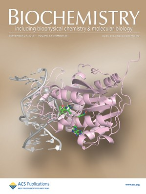 Biochemistry: Volume 52, Issue 38