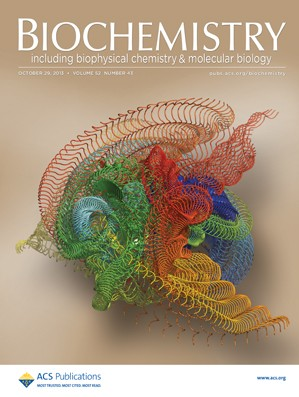 Biochemistry: Volume 52, Issue 43
